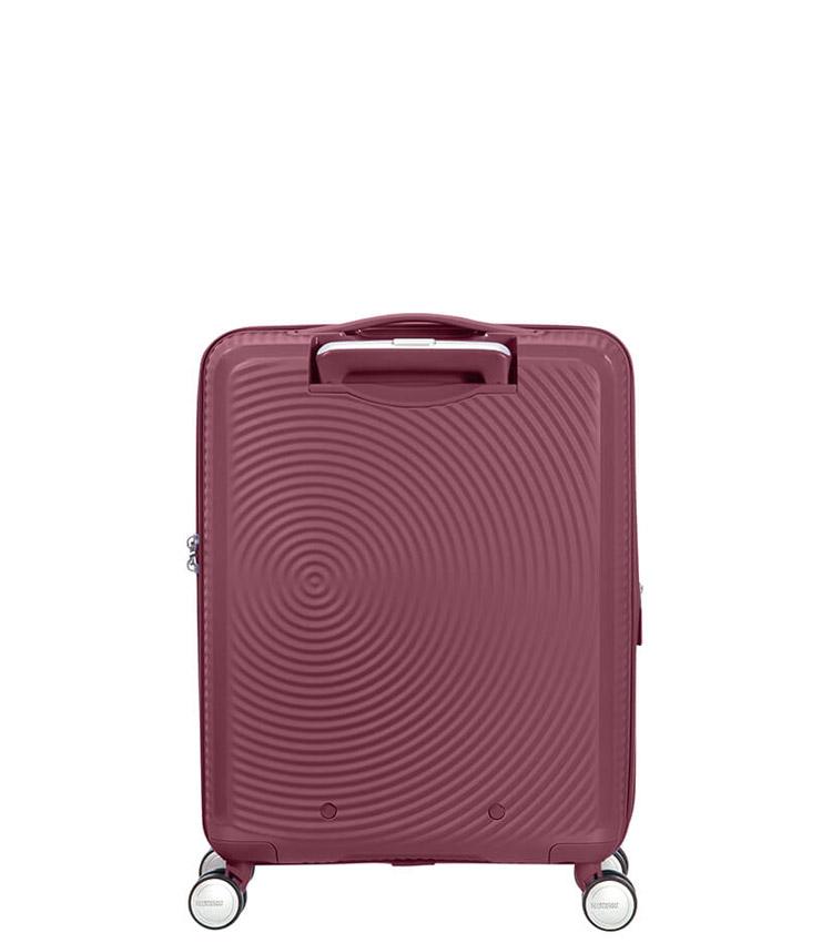 Малый чемодан American Tourister Soundbox 32G*40001 (55 см) Dark Burgundy ~ручная кладь~