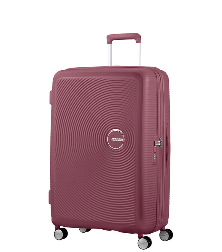 Средний чемодан American Tourister Soundbox 32G*40002 (67 см) Dark Burgundy