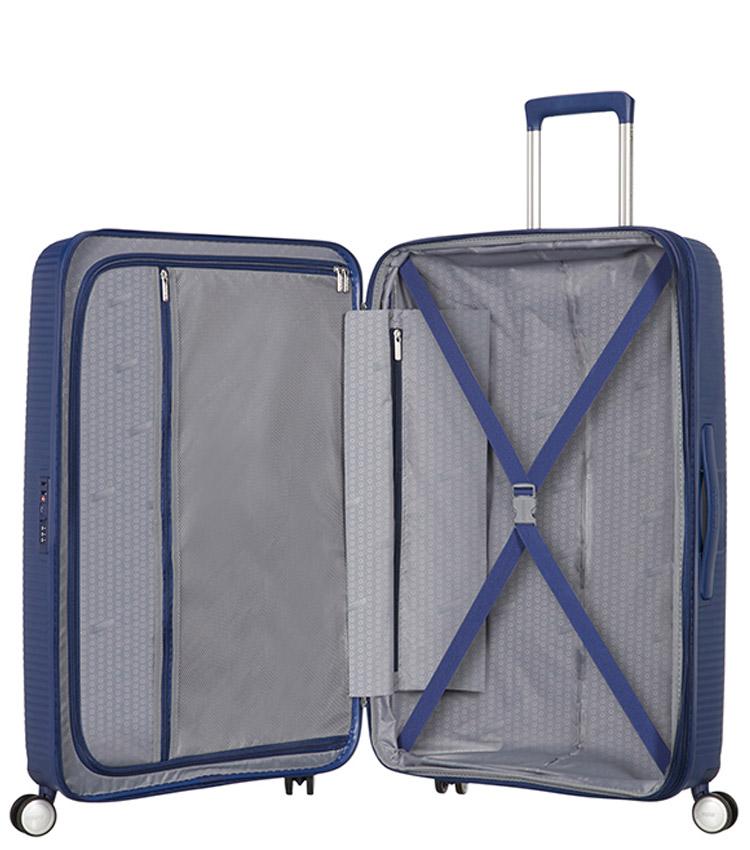 Большой чемодан American Tourister Soundbox Spinner Expandable 32G*41003 (77 см) Midnight Navy