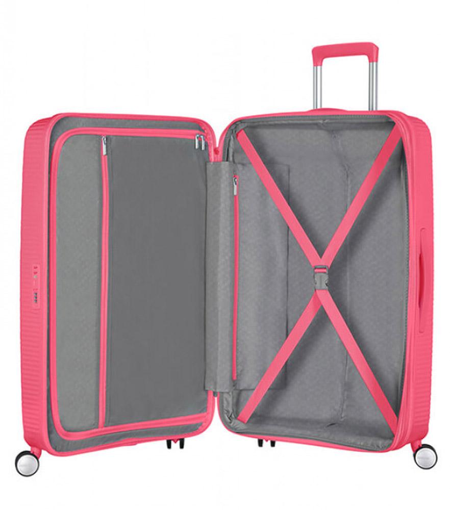 Большой чемодан American Tourister 32G*70003 Soundbox Spinner (77 см)