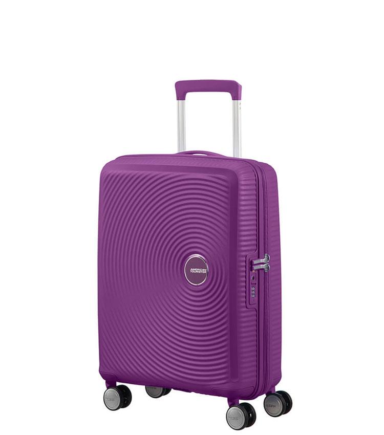 Малый чемодан American Tourister Soundbox 32G*71001 (55 см) Purple Orchid ~ручная кладь~