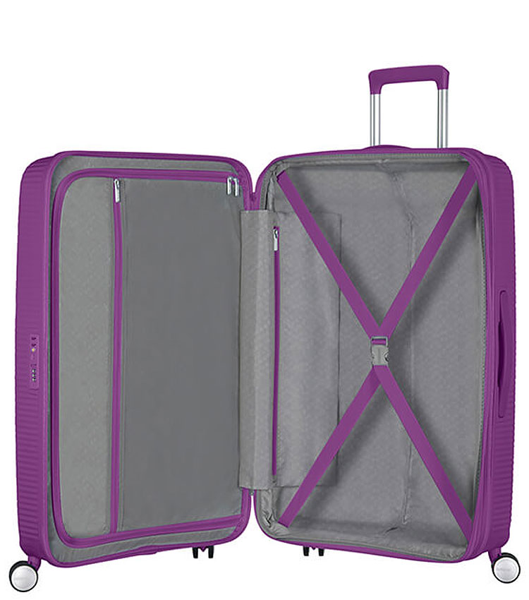 Средний чемодан American Tourister Soundbox 32G*71002 (67 см) Purple Orchid