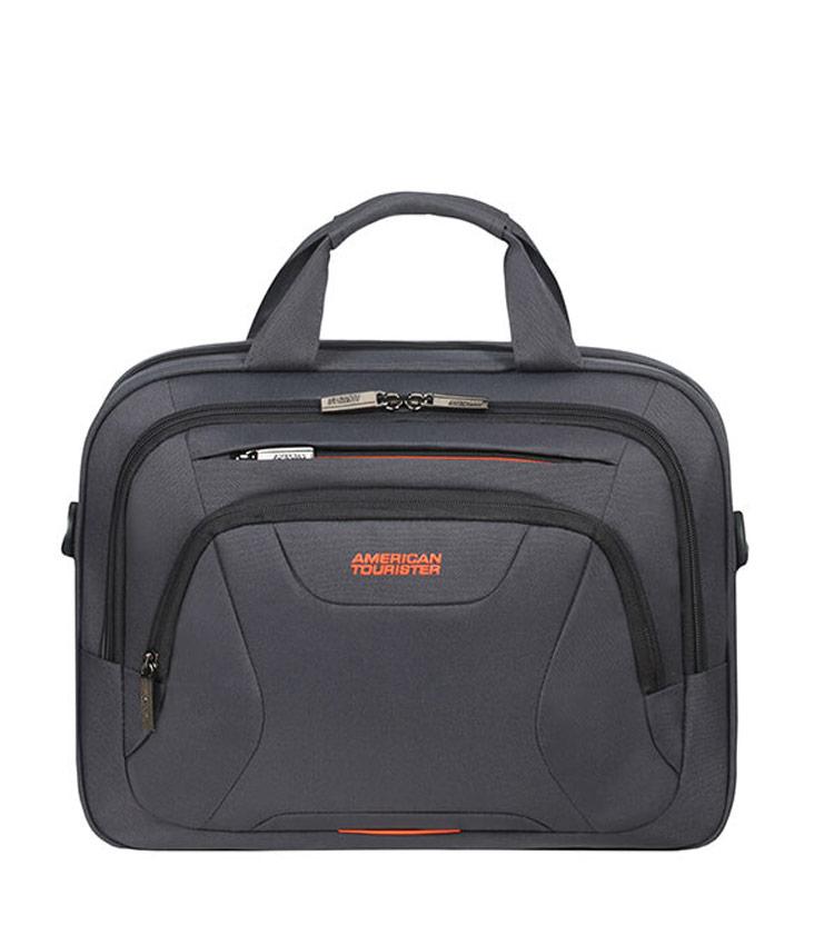 Сумка для ноутбука American Tourister AT WORK Aktentasche 14  33G*28004 - Grey/Orange