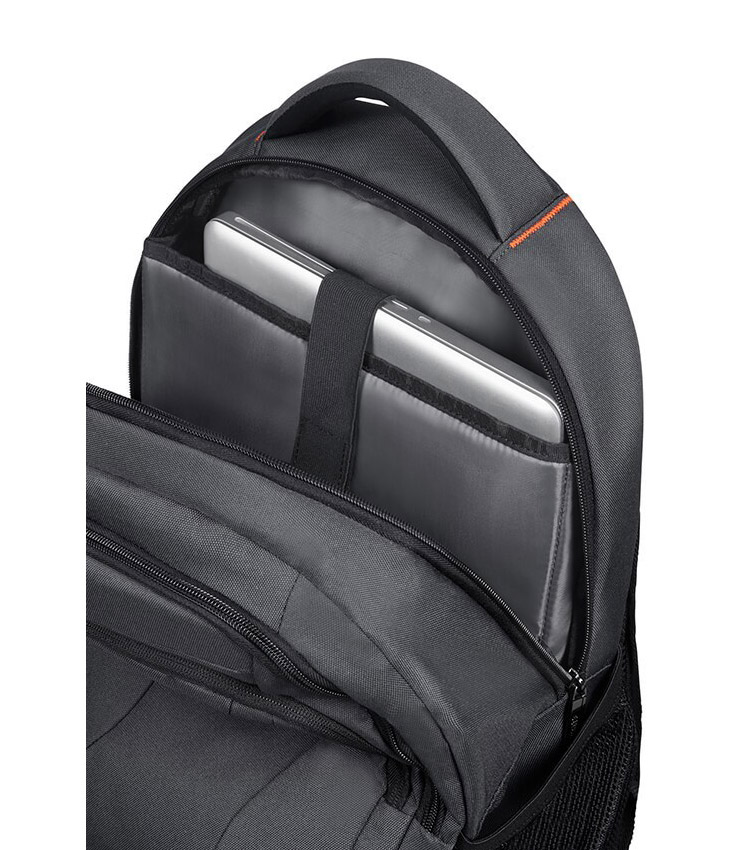 Рюкзак American Tourister AT WORK Laptop Rucksack 15.6 33G*28002 - 	Grey/Orange