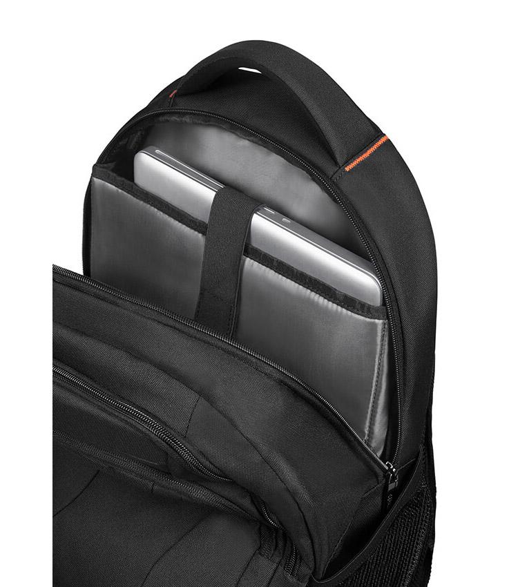 Рюкзак American Tourister AT WORK Laptop Rucksack 15.6 33G*39002 - Black/Orange