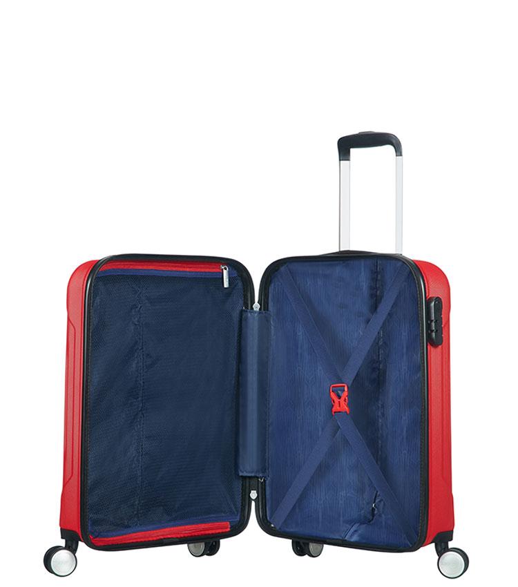 Малый чемодан American Tourister Tracklite 34G*00001 (55 см) Flame Red ~ручная кладь~