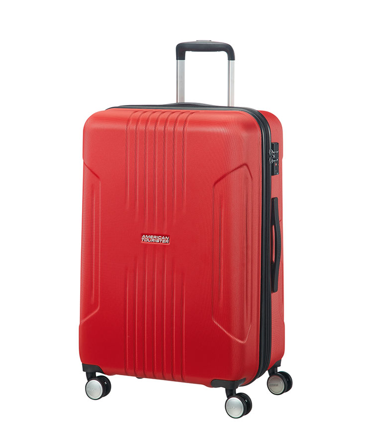 Средний чемодан American Tourister Tracklite 34G*00002 (67 см) Flame Red