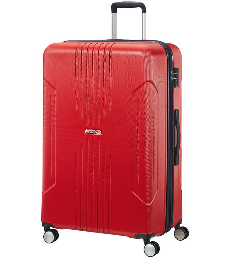 Большой чемодан American Tourister Tracklite 34G*00003 (78 см) Flame Red