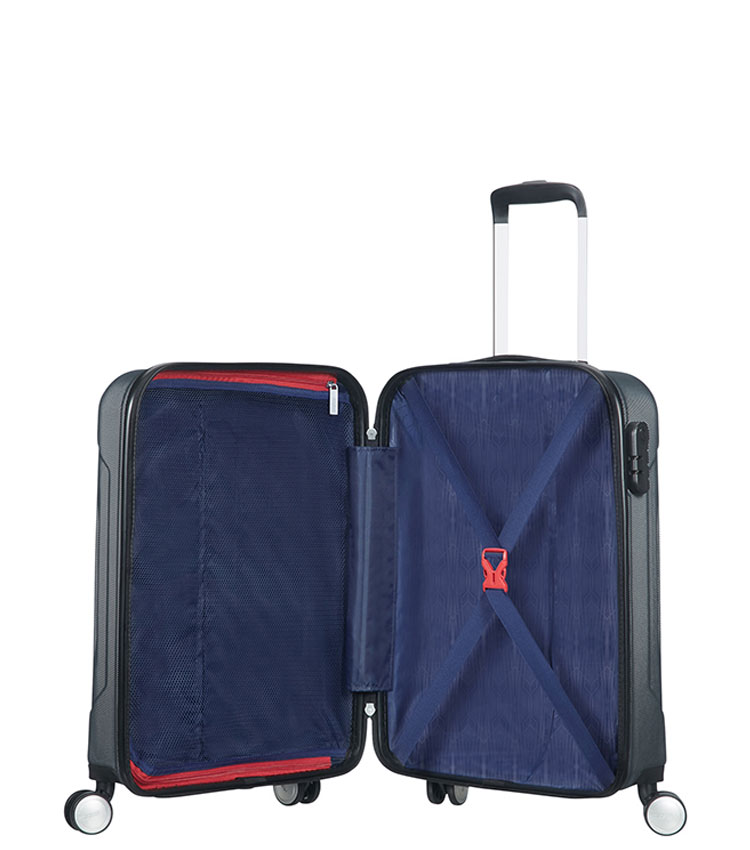Малый чемодан American Tourister Tracklite 34G*08001 (55 см) Dark Slate ~ручная кладь~