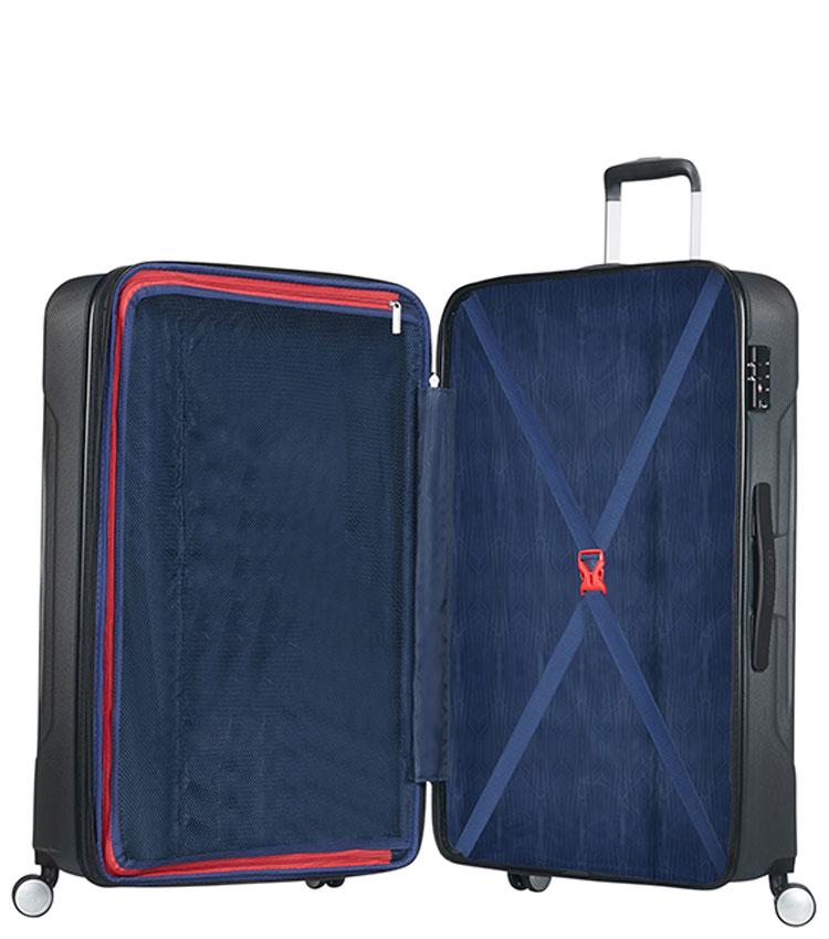 Средний чемодан American Tourister Tracklite 34G*08002 (67 см) Dark Slate