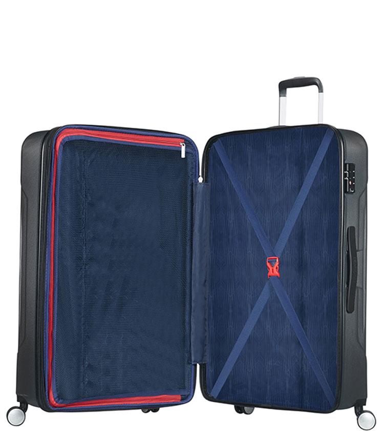 Большой чемодан American Tourister Tracklite 34G*08003 (78 см) Dark Slate