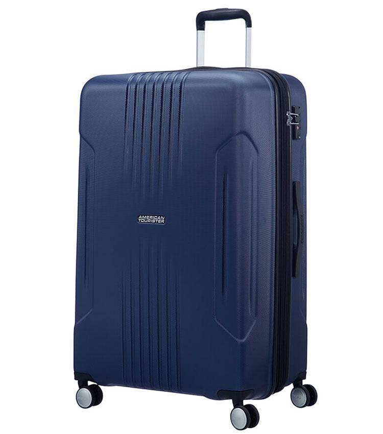 Большой чемодан American Tourister Tracklite 34G*51003 (78 см) Dark Navy