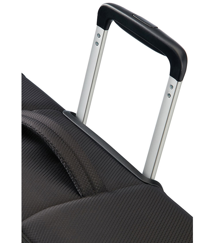 Малый чемодан American Tourister Litewing 38G*09001 - Volcanic Black ~ручная кладь~
