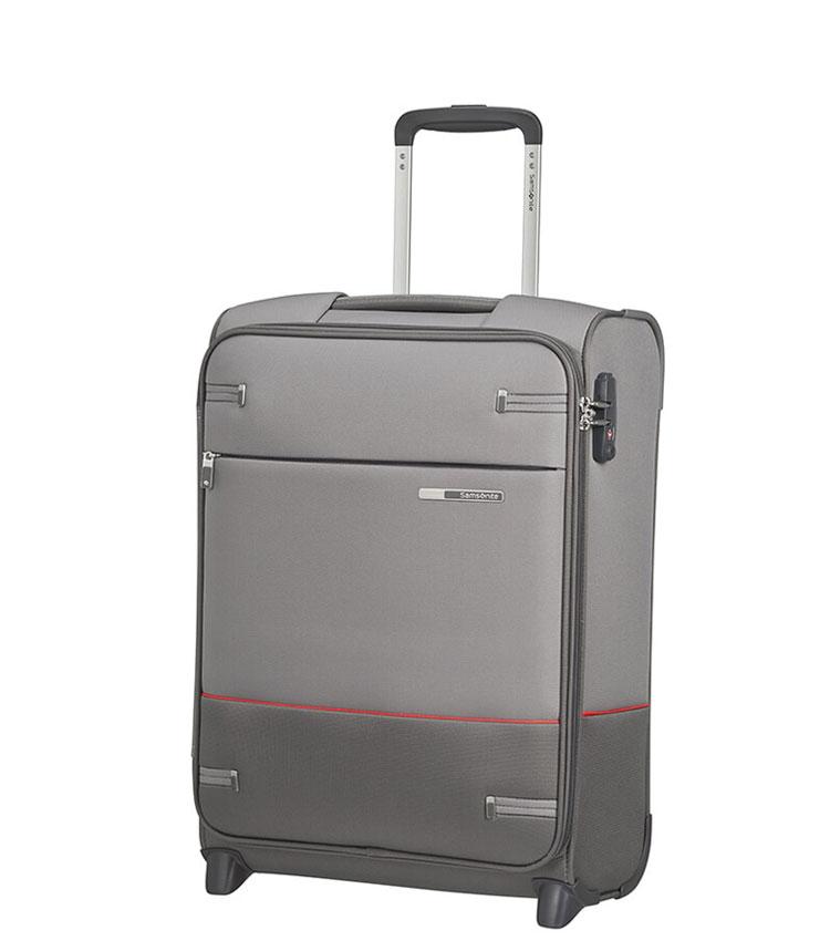 Малый чемодан Samsonite Base Boost 38N*08001 (55 см) ~ручная кладь~ Grey