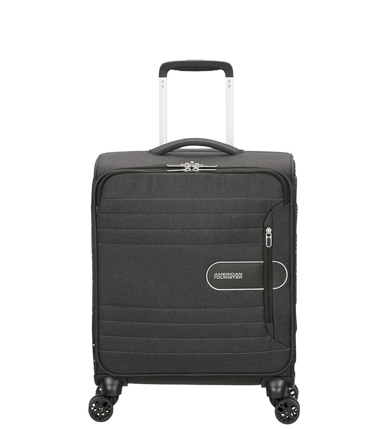 Малый чемодан American Tourister Sonicsurfer 46G*09002 (55 см) - Black Speckle ~ручная кладь~