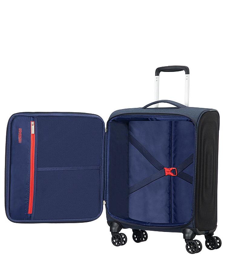 Малый чемодан American Tourister Sonicsurfer 46G*41002 (55 см) ~ручная кладь~ Midnight Navy