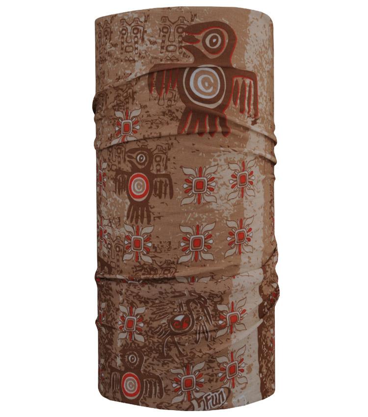 Шарф-труба 4Fun Chusta standart aztec bird