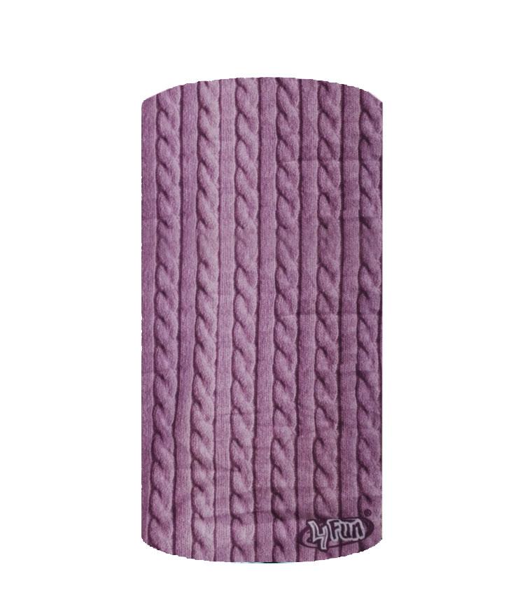Шарф-труба 4Fun Chusta standart sweater tress wide violet