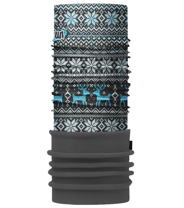 Шарф-труба 4Fun Polartec deer blue