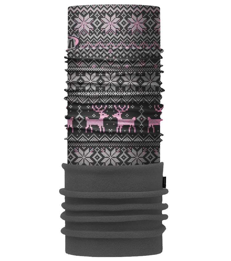 Шарф-труба 4Fun Polartec deer pink