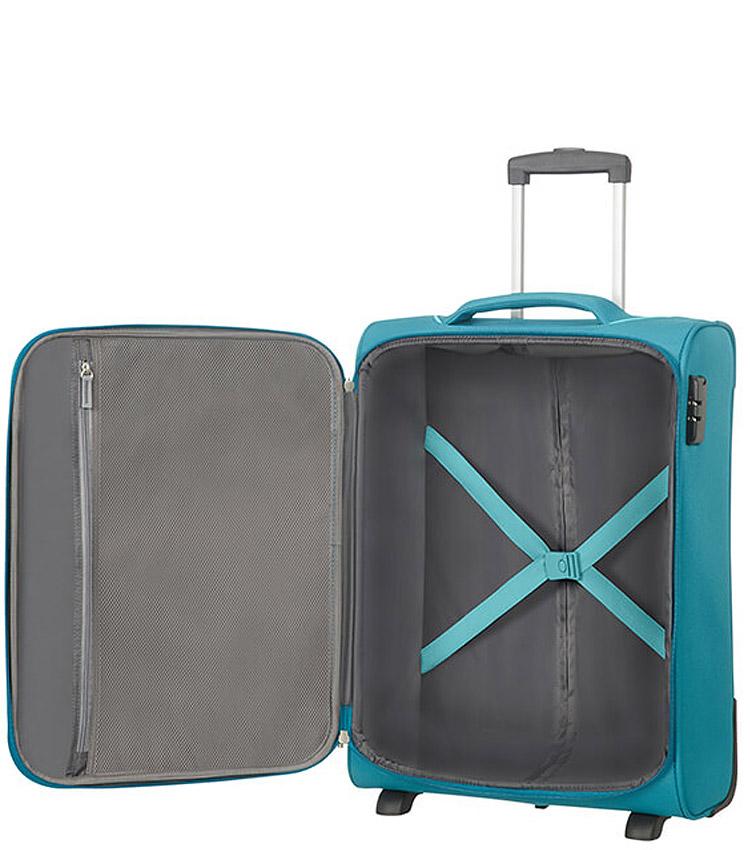 Малый чемодан American Tourister Holiday Heat 50G*04003 (55 см) Petrol Green ~ручная кладь~