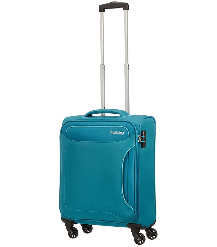 Малый чемодан American Tourister Holiday Heat 50G*04004 (55 см) Petrol Green ~ручная кладь~
