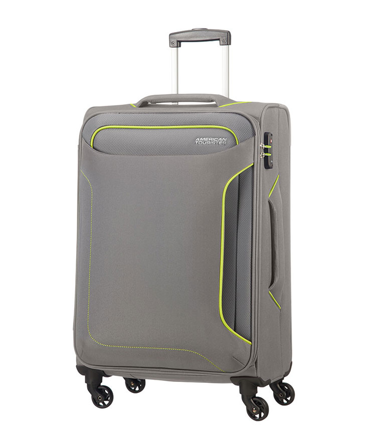 Средний чемодан American Tourister Holiday Heat 50G*08005 (67 см) - Metal Grey