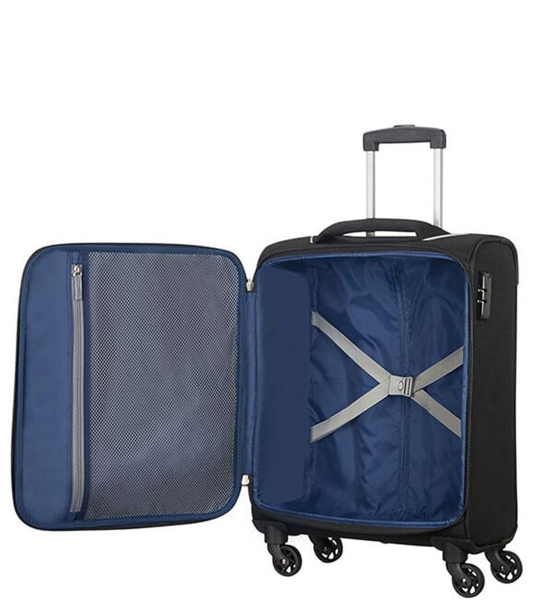 Малый чемодан American Tourister Holiday Heat 50G*09004 (55 см) ~ручная кладь~ Black