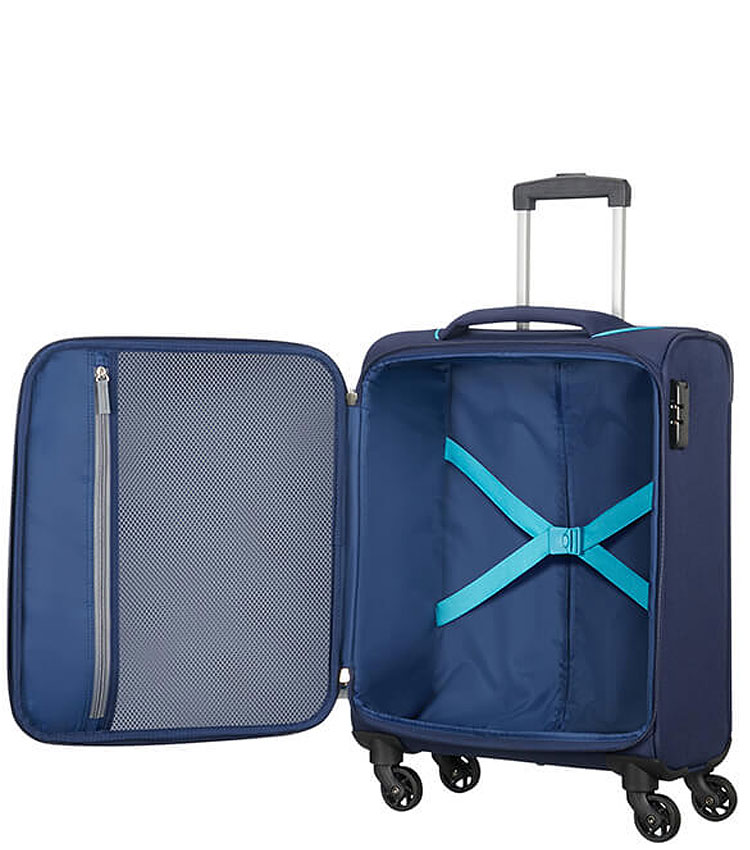 Малый чемодан American Tourister Holiday Heat 50G*41004 (55 см) ~ручная кладь~ Navy