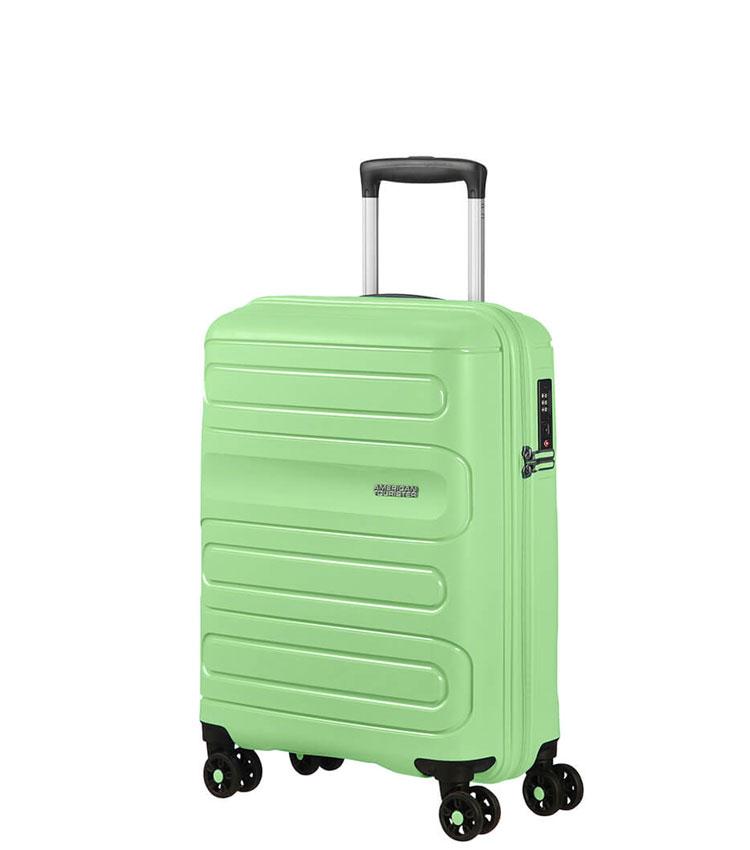 Малый чемодан American Tourister Sunside 51G*24001 (55 см) ~ручная кладь~ Neo Mint