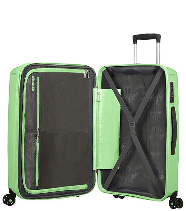 Большой чемодан American Tourister Sunside 51G*24003 (77 см) - Neo Mint