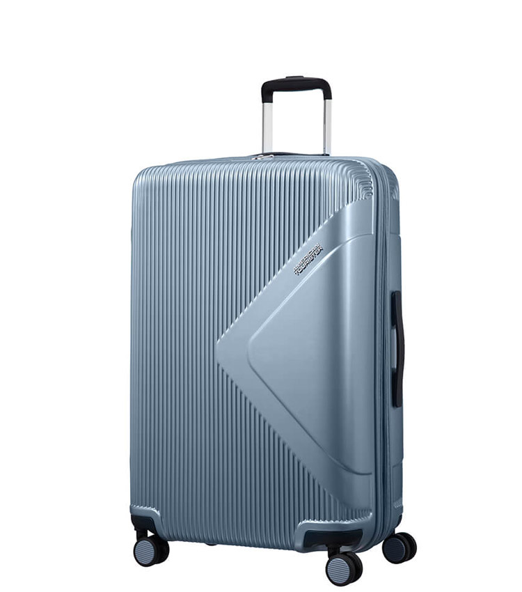 Средний чемодан American Tourister Modern Dream Spinner 55G*21002 (69 см) Grey Blue