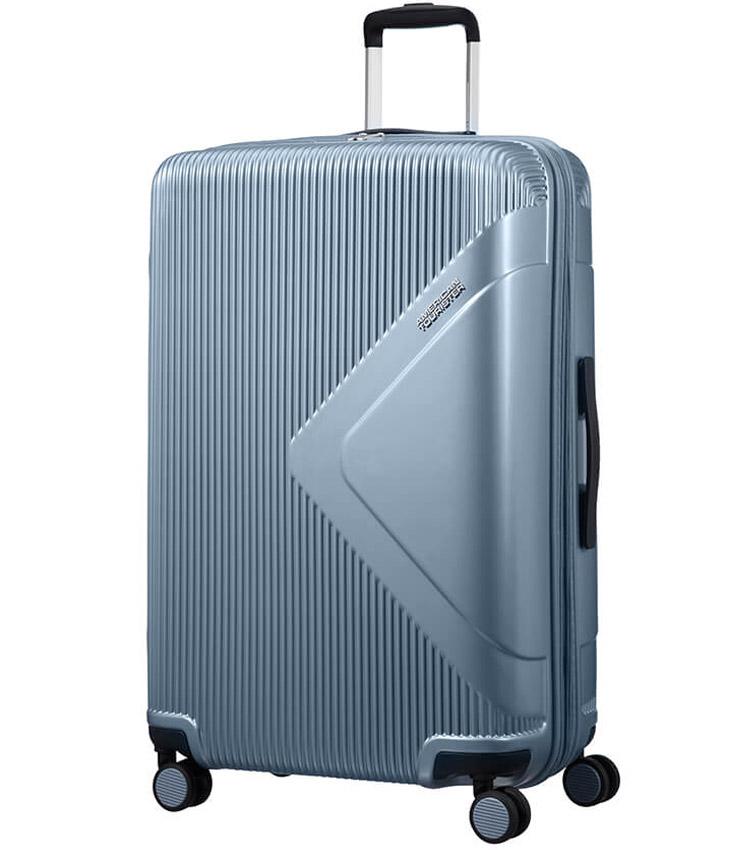 Большой чемодан American Tourister Modern Dream Spinner 55G*21003 (78 см) Grey Blue