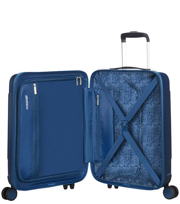 Малый чемодан American Tourister Modern Dream Spinner 55G*41001 (55 см) True Navy ~ручная кладь~
