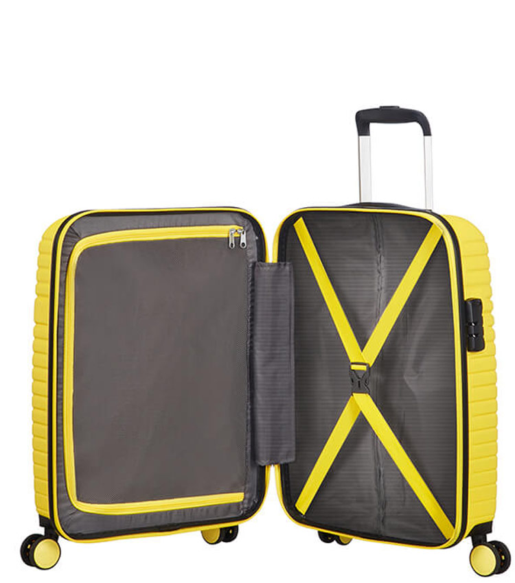 Малый чемодан спиннер American Tourister Aero Racer 61G*16001 (55 см) ~ручная кладь~