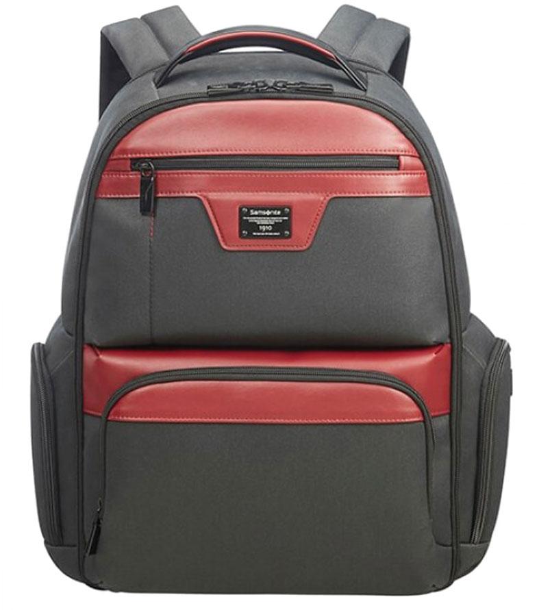 Рюкзак для ноутбука Samsonite Zenith 15.6 63N*69003 - Black/Red