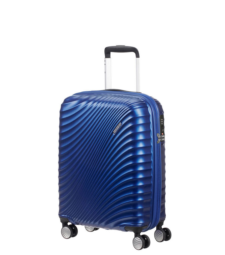 Малый чемодан American Tourister Jetglam 71G*61001 (55 см) Metallic Blue