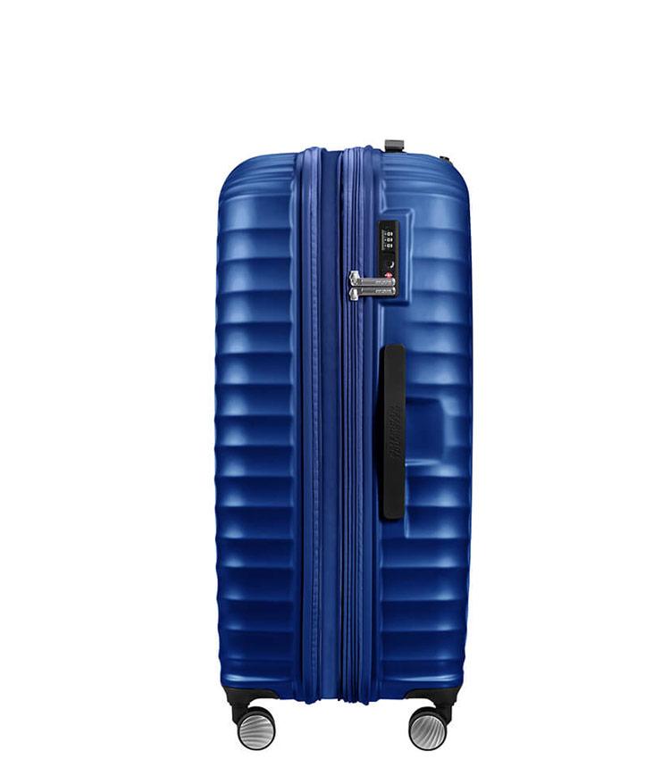 Большой чемодан American Tourister Jetglam  71G*61003 (77 см) Metallic Blue