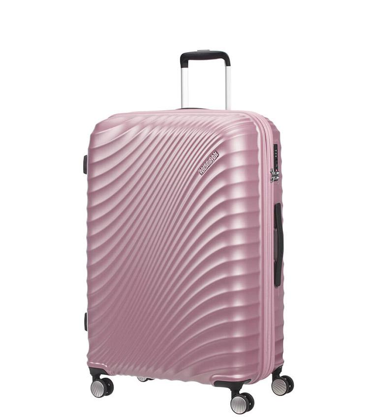 Средний чемодан American Tourister Jetglam Spinner 71G*80002 (67 см) Metallic Pink