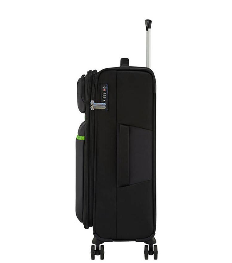 Средний чемодан American Tourister MatchUP Spinner 77G*19004 (68 см) Volt Black