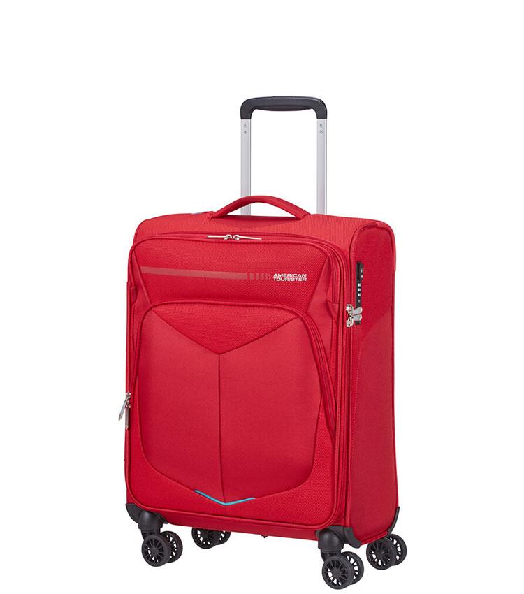 Малый чемодан American Tourister Summerfunk 78G*00010 (55 см) ~ручная кладь~ Red