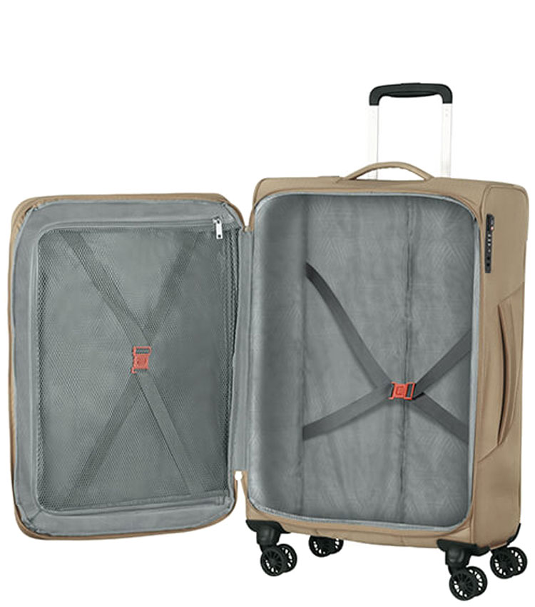 Средний чемодан American Tourister 78G*02004 Summerfunk (67 см) - Beige