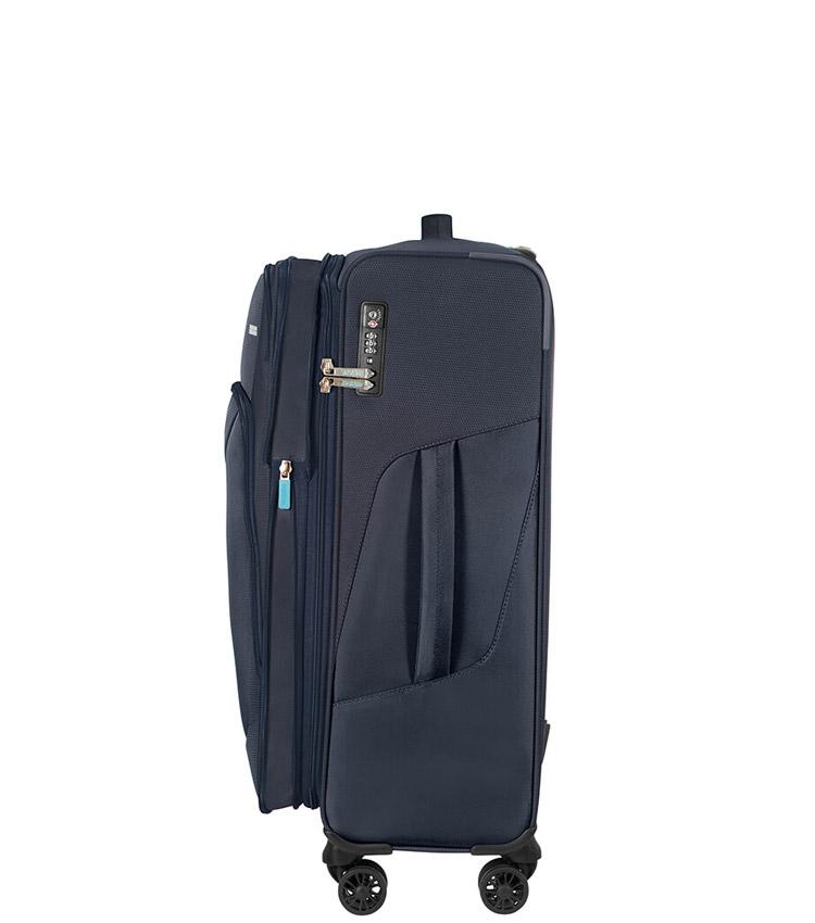 Средний чемодан American Tourister 78G*41004 Summerfunk (67 см) - Navy