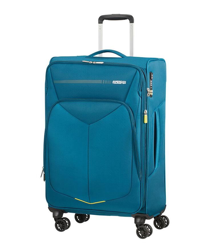 Средний чемодан American Tourister Summerfunk 78G*51004 (68 см) - Teal