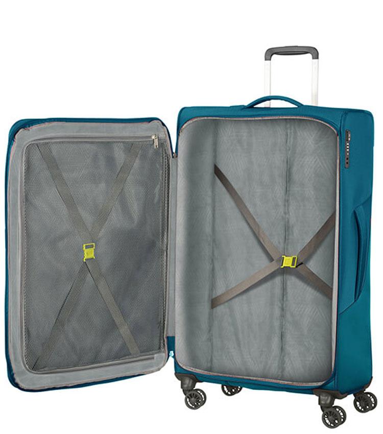 Большой чемодан American Tourister Summerfunk 78G*51005 (79 см) - Teal