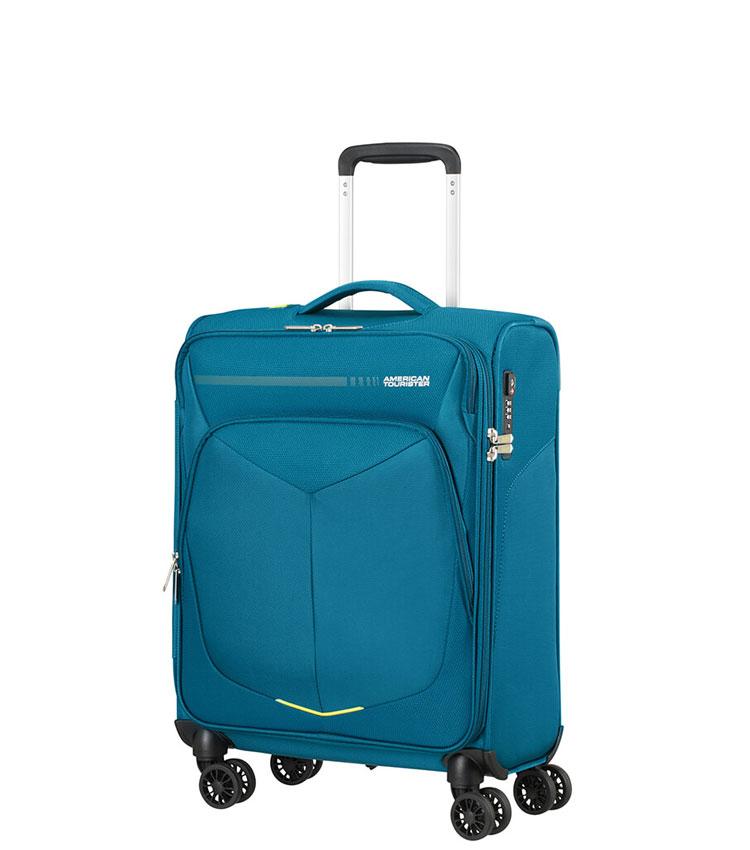Малый чемодан American Tourister Summerfunk 78G*51010 (55 см) ~ручная кладь~ Teal
