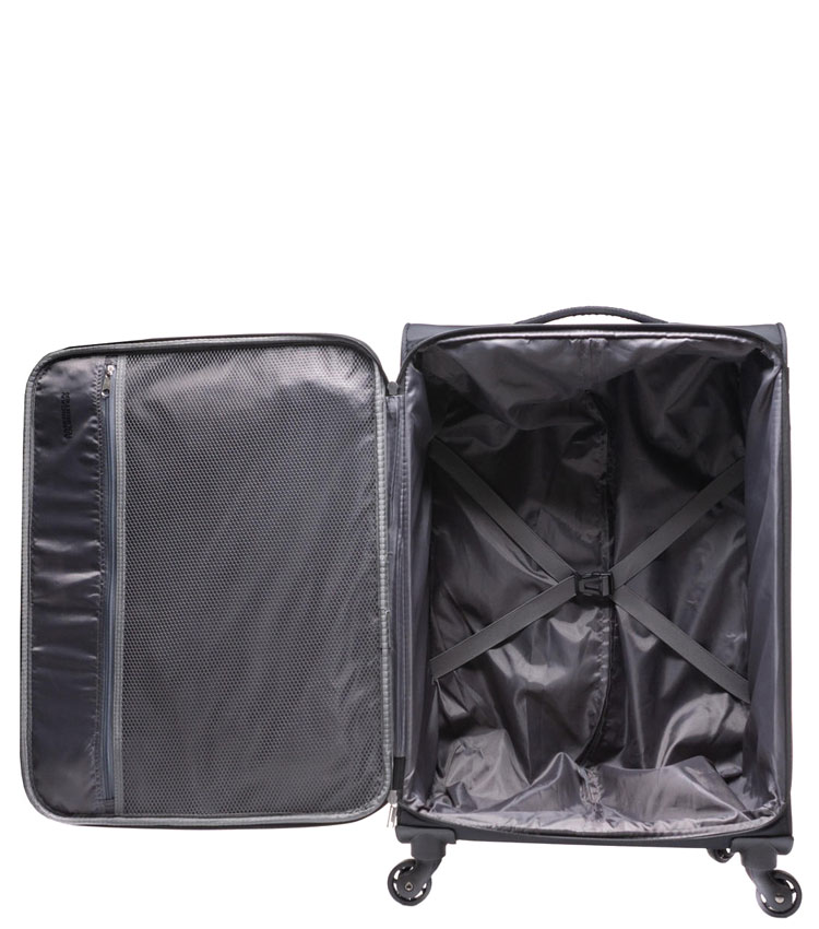 Средний чемодан American Tourister Sunrace 82G*10903 (68 см) - Red/Black