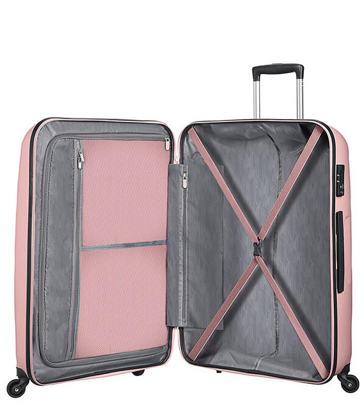 Малый чемодан American Tourister Bon Air  85A*42001 (55 см) Cherry Blossoms
