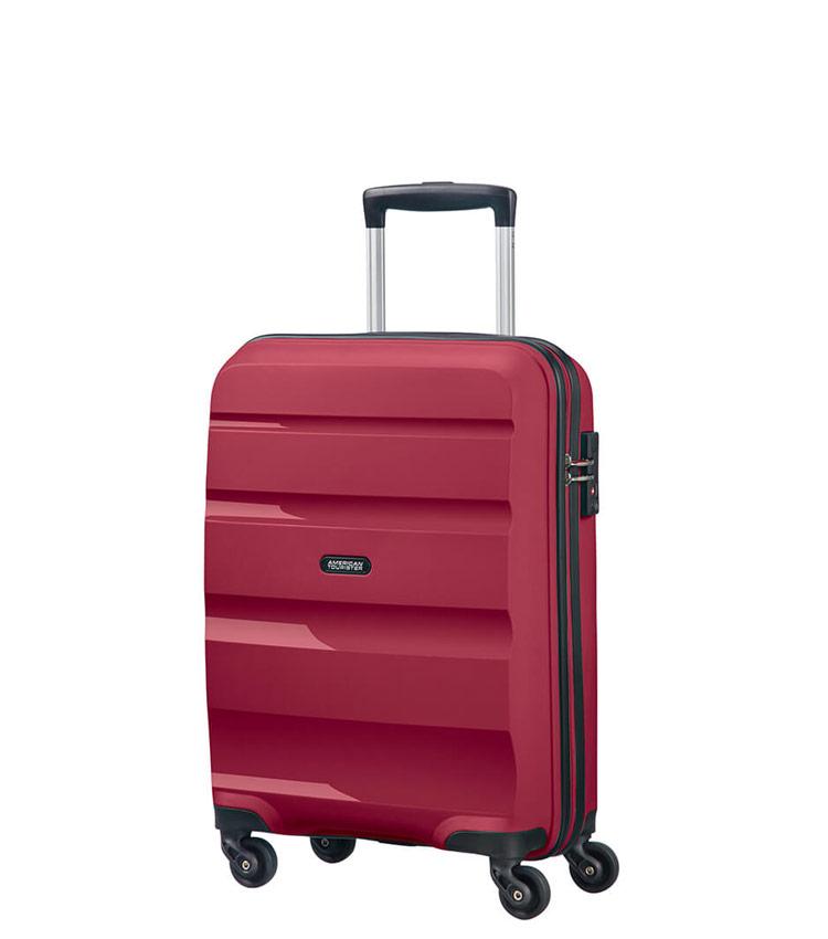 Малый чемодан American Tourister Bon Air  85A*52001 (55 см) BURGUNDY PURPLE