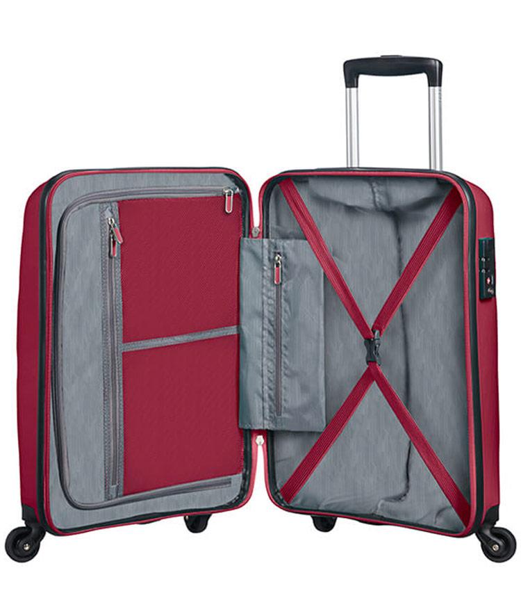 Большой чемодан American Tourister Bon Air  85A*52003 (75 см) BURGUNDY PURPLE
